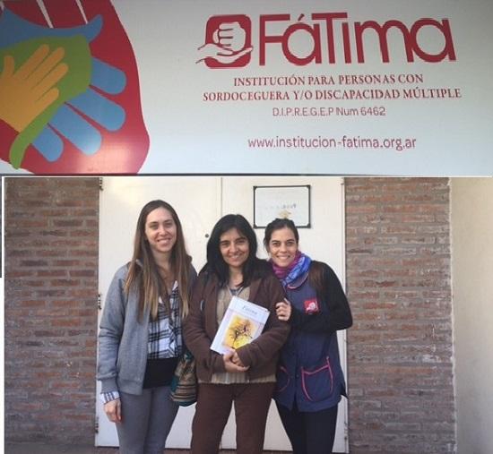 Madres del Dolor en el Instituto Fátima